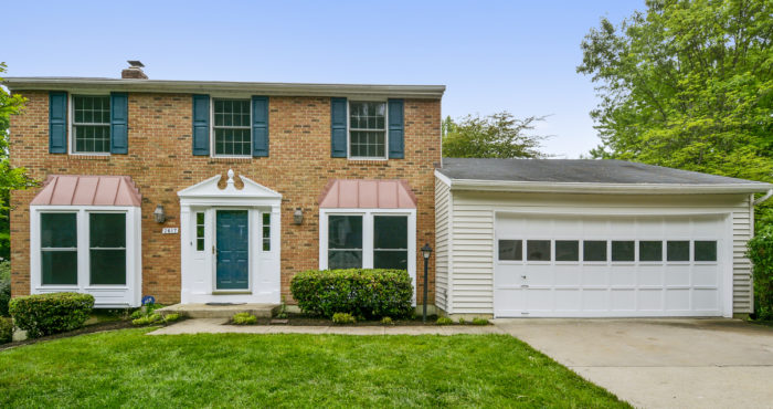Chelle Gassan, Northern Virginia REALTOR, Lists Springfield VA Home For Sale, 7617 Glenville Court_Exterior-Front Elevation_1