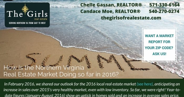 The Girls of Real Estate End of Summer 2016 Real Estate Review: How is the Northern Virginia Real Estate Market Doing So Far?